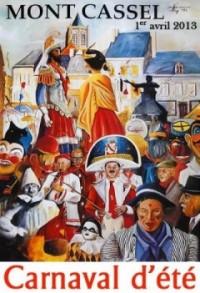Cassel - Carnaval du Lundi de Paques 2013