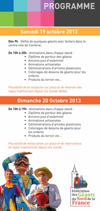 Festivites_Cambrai-1er-Meeting-de-Geants-Programme_2013