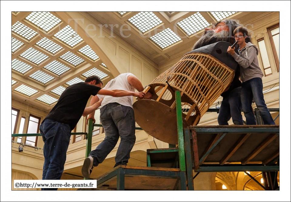 Les Géants sont de sortie - Le démontage de Lyderic et Phinaert 2015