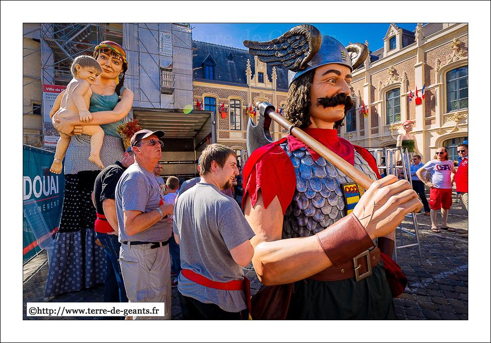 Fêtes de Gayant 2016 - Géants d'ici et d'ailleurs