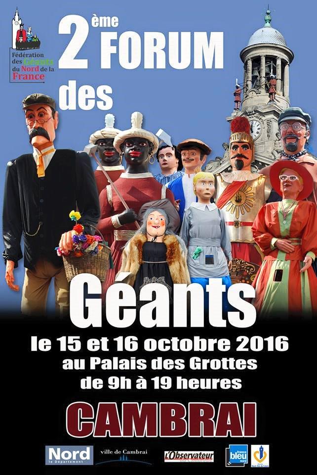 Festivites_Cambrai-2eme-Forum-des-Geants-Affiche_2016